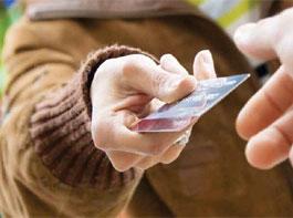 Кредитная карта выручит в трудную минуту