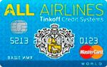 Изображение кредитной карты Тинькофф All Airlines