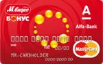 Кредитная карта Альфа-Банк М.Видео-БОНУС