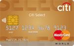 Кредитная карта Ситибанк Citi Select Premium