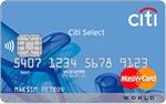 Кредитная карта Ситибанк Citi Select World