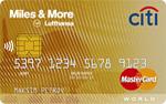 Кредитная карта Ситибанк Miles & More Premium