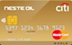 Кредитная карта Ситибанк Neste Oil-Citibank Premium