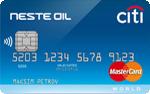 Кредитная карта Ситибанк Neste Oil-Citibank