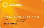 Кредитная карта МДМ Банк Электронная