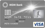 Кредитная карта МДМ Банк VISA Platinum