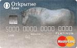 Кредитная карта Открытие Добрые дела Platinum