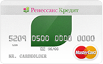 Кредитная карта Ренессанс Прозрачная