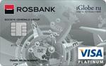 Кредитная карта Росбанк - iGlobe VISA Platinum
