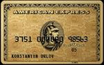 Кредитная карта RSB American Express® Gold Card