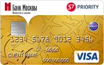 Кредитная карта Банк Москвы S7-VISA Gold