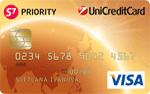 Кредитная карта ЮниКредит S7 Priority VISA Gold