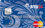 Кредитная карта ВТБ24 Cashback MasterCard